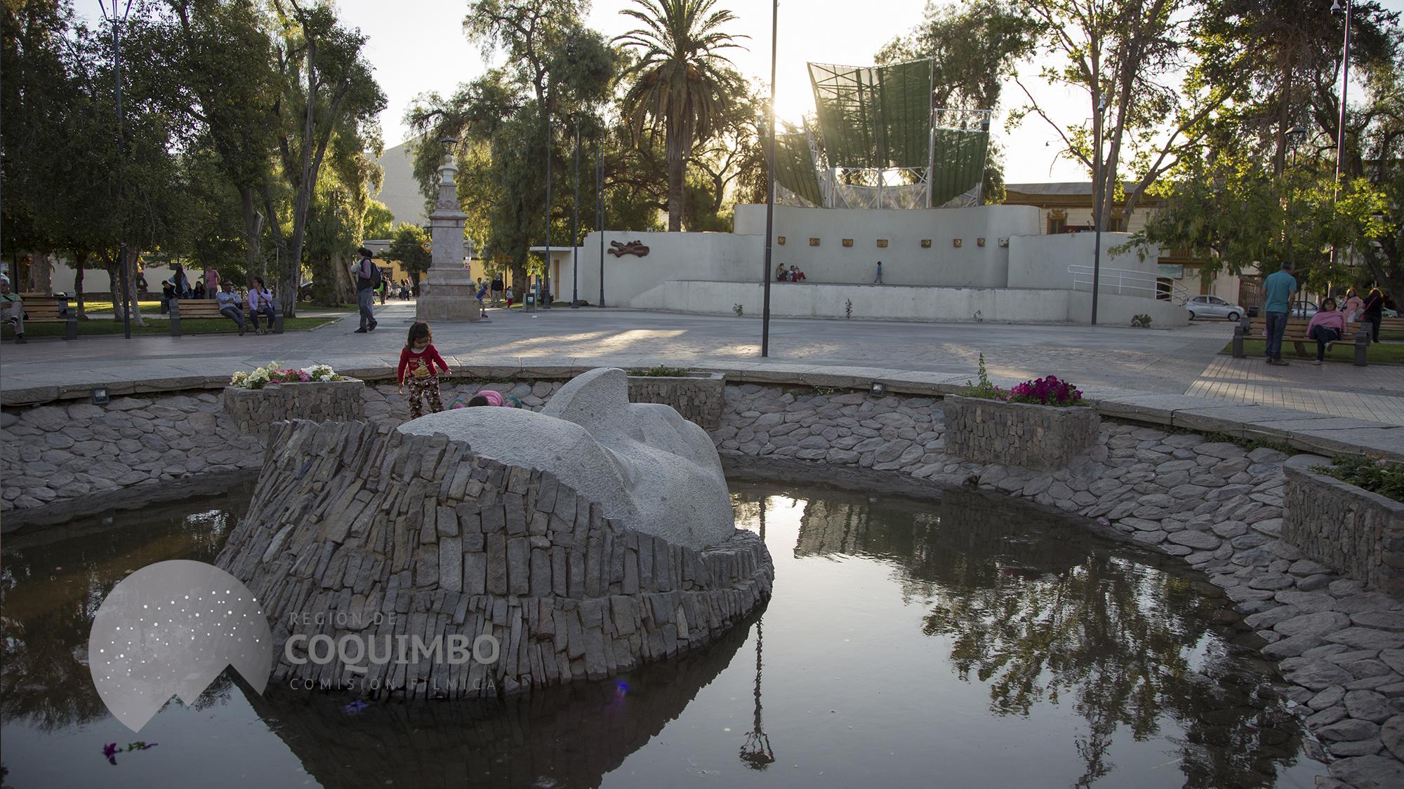 Plaza de Armas Vicuña